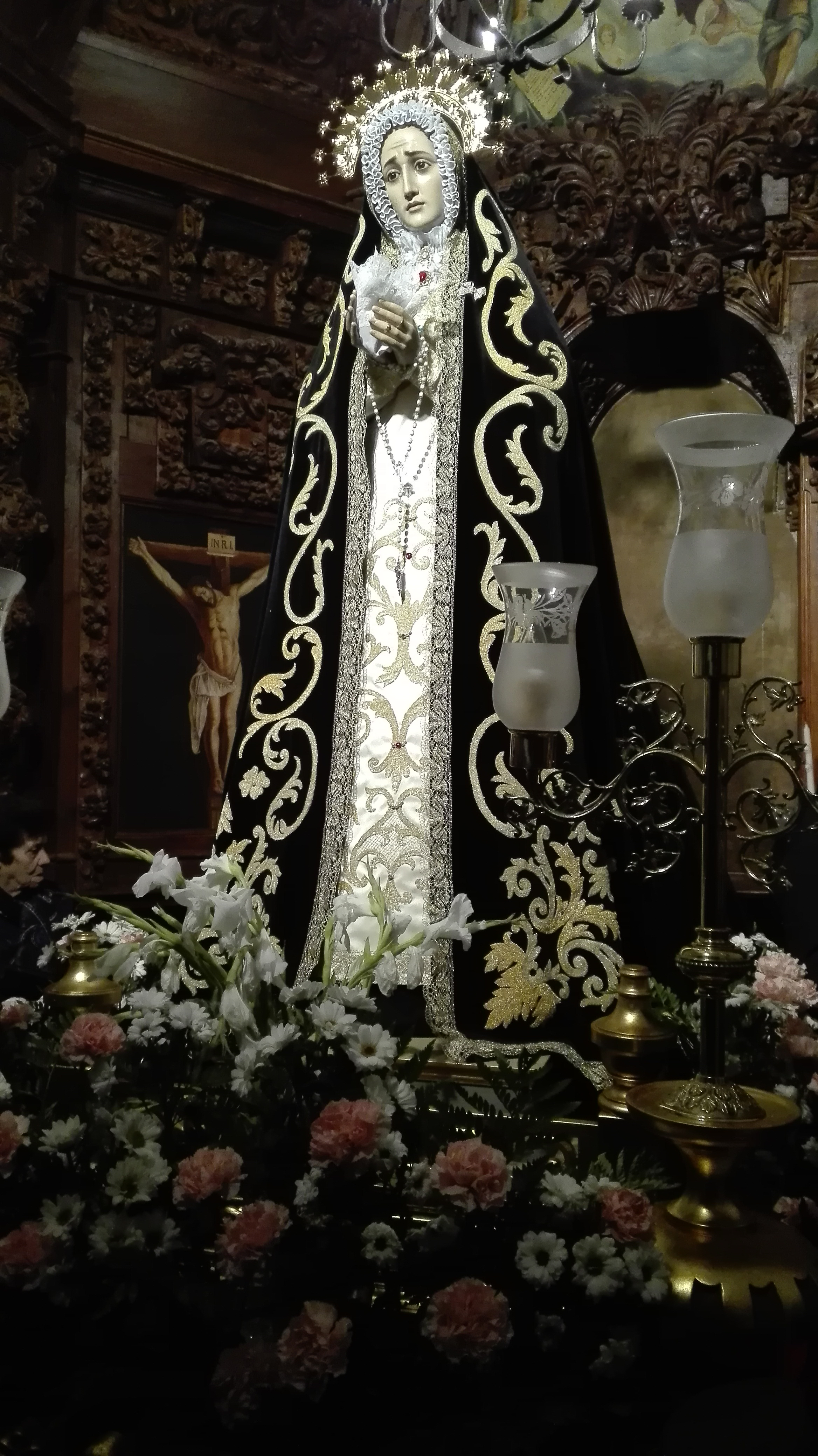 La Virgen en Mayo de 2017